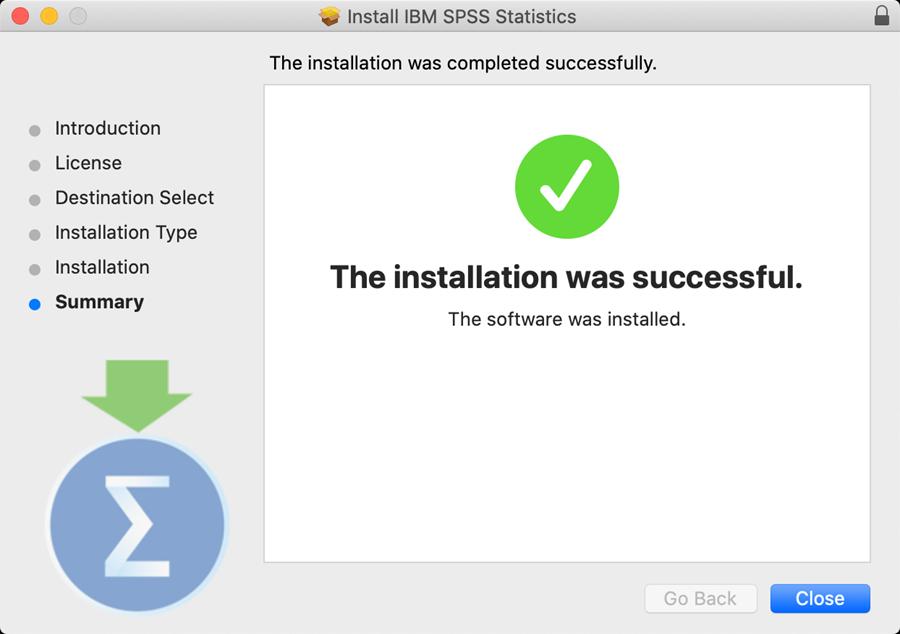 spss personal mac step 11