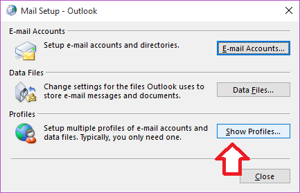 additional email accounts step 8