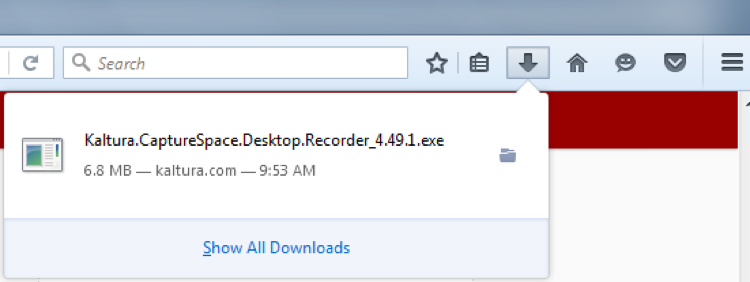 Downloading Capture Space Lite
