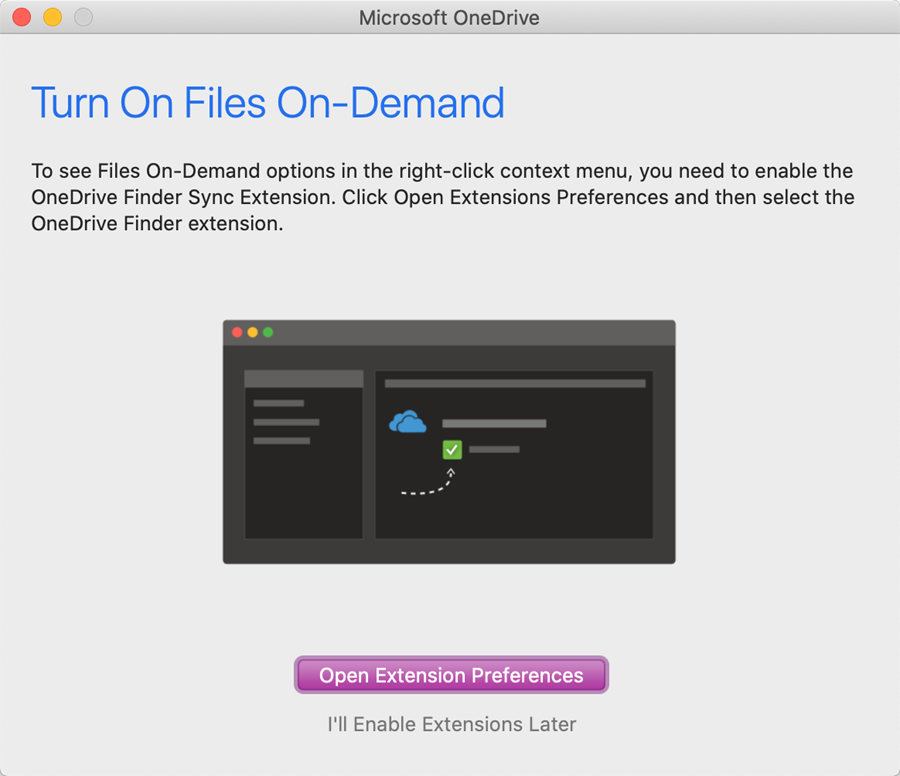 onedrive mac step 7