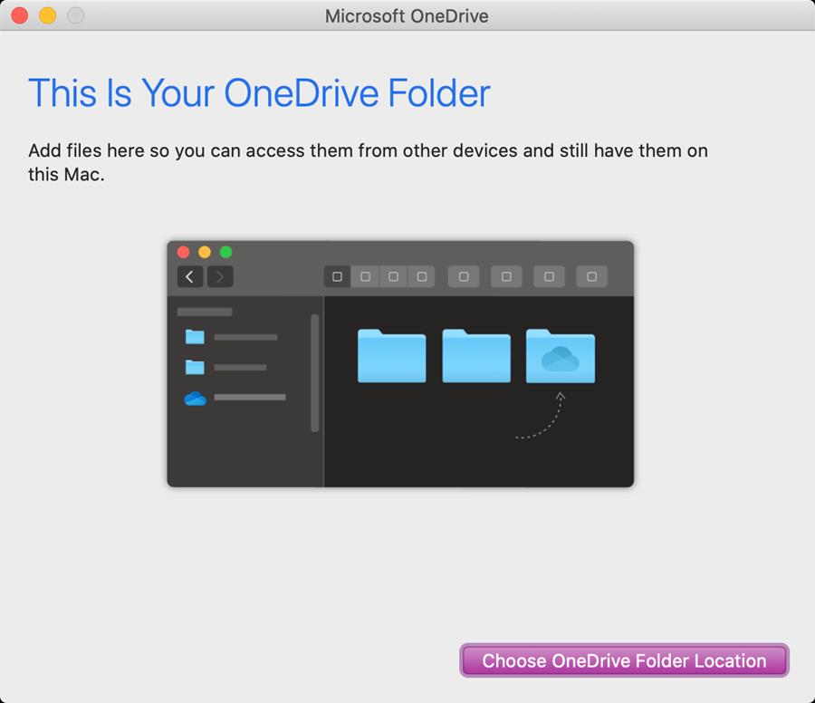 onedrive mac step 3