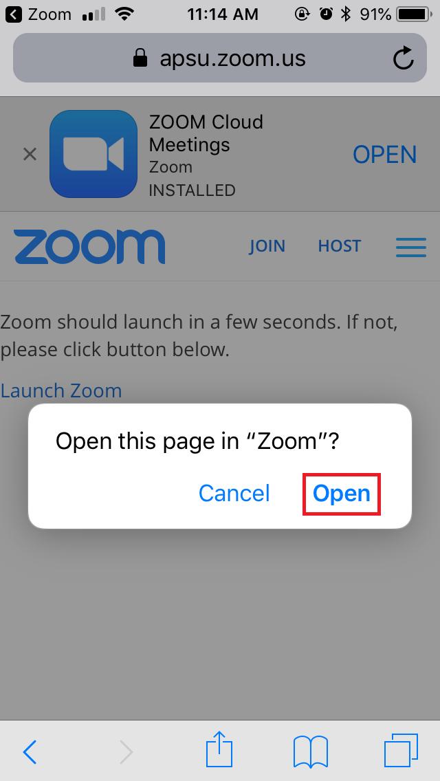 zoom app step 6