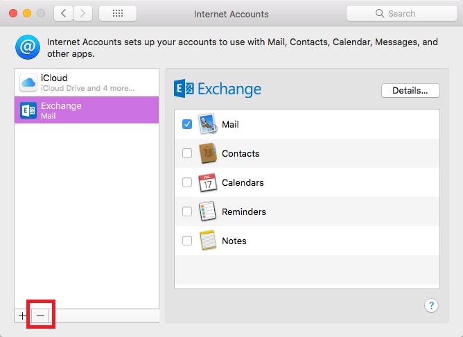 mac outlook default step 7