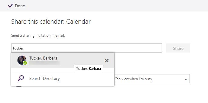 shared calendars owa step 4