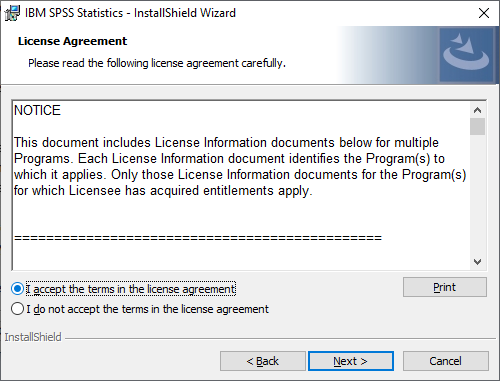spss personal pc step 7