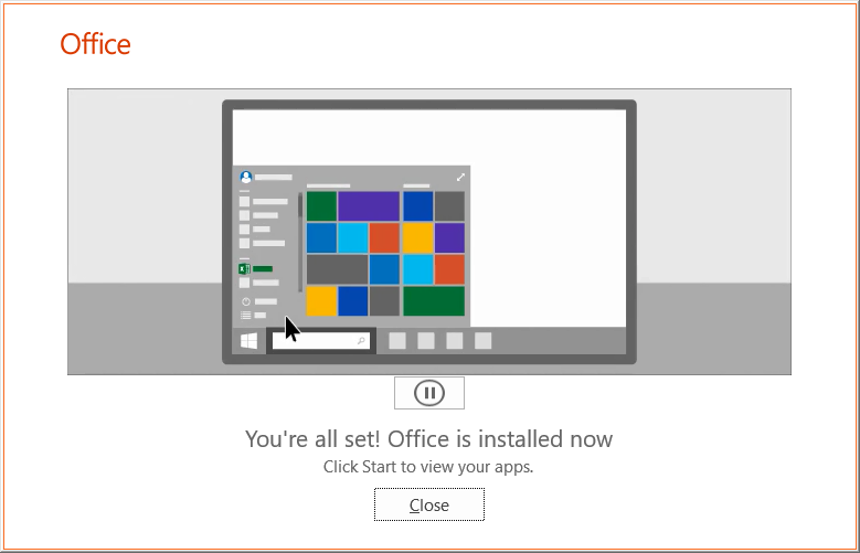 office 365 employee install step 8