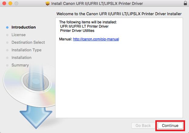 network printers mac step 10