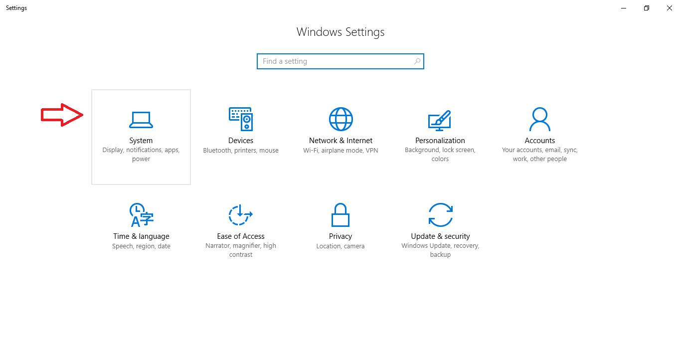 default browser windows 10 step 2
