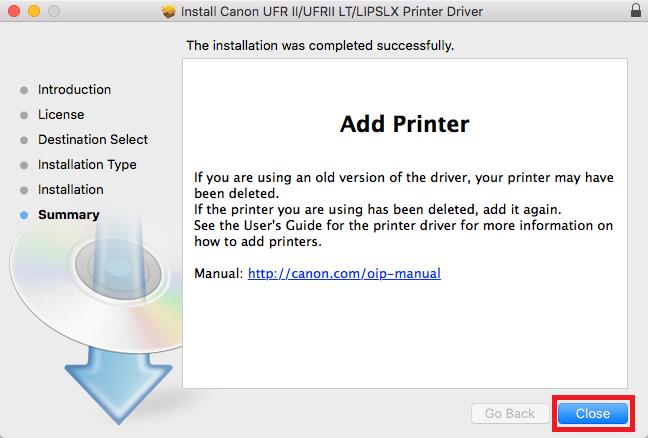 network printers mac step 15
