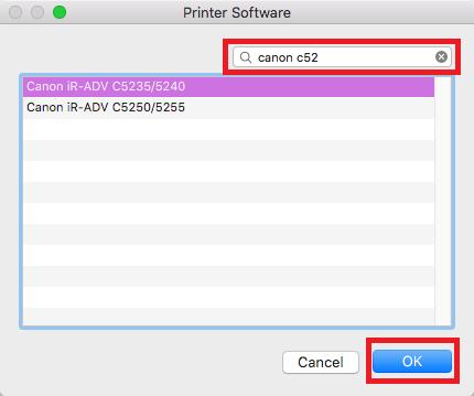 network printers mac step 7