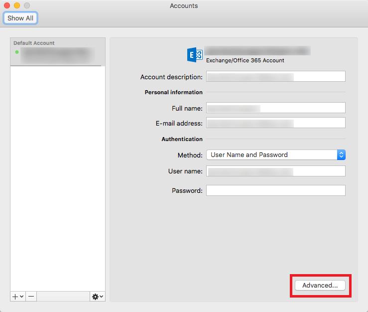 delegate access mac step 3