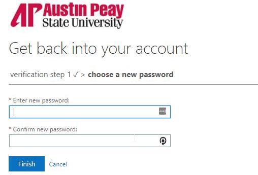 azure password reset step 8