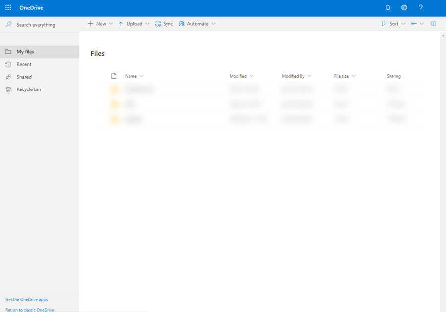 onedrive browser step 4