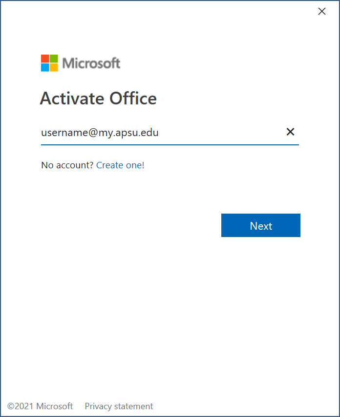 office 365 student step 11