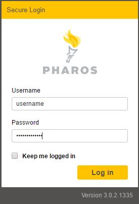 pharos web portal 01