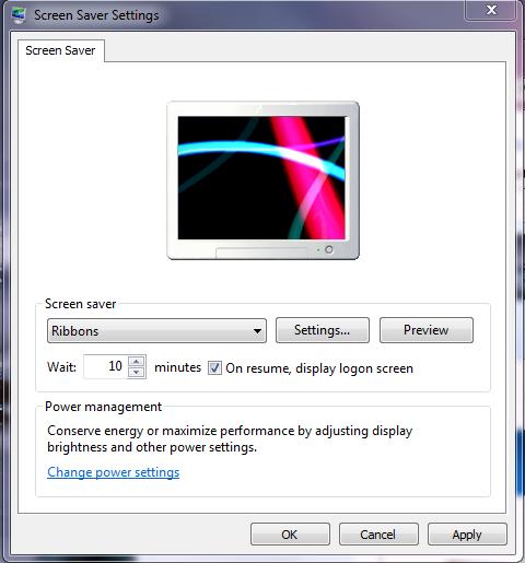 screen saver pc step 5
