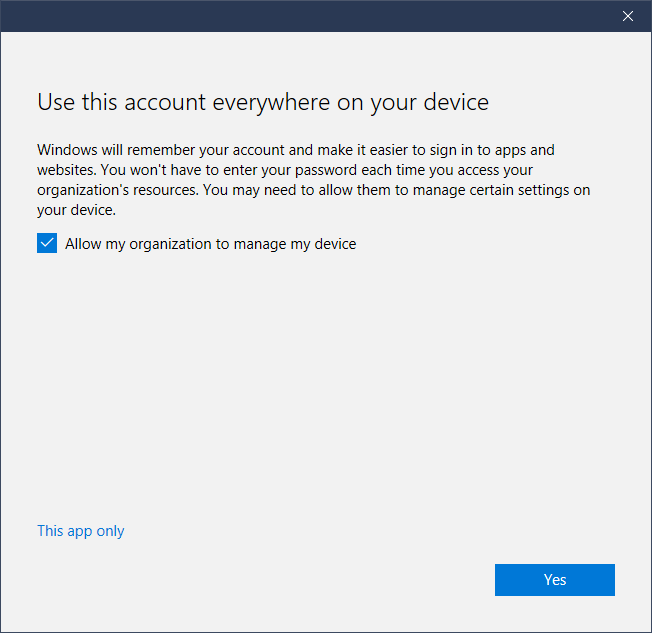 student email windows 10 step 5