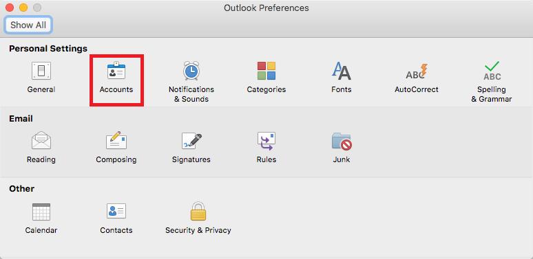 delegate access mac step 2
