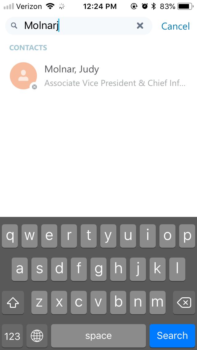 skype app step 5