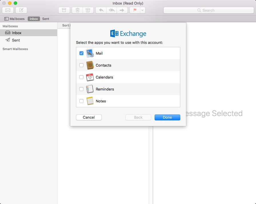 mac outlook default step 3