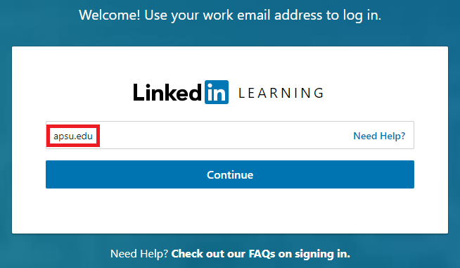 linkedin learning sign in step 4