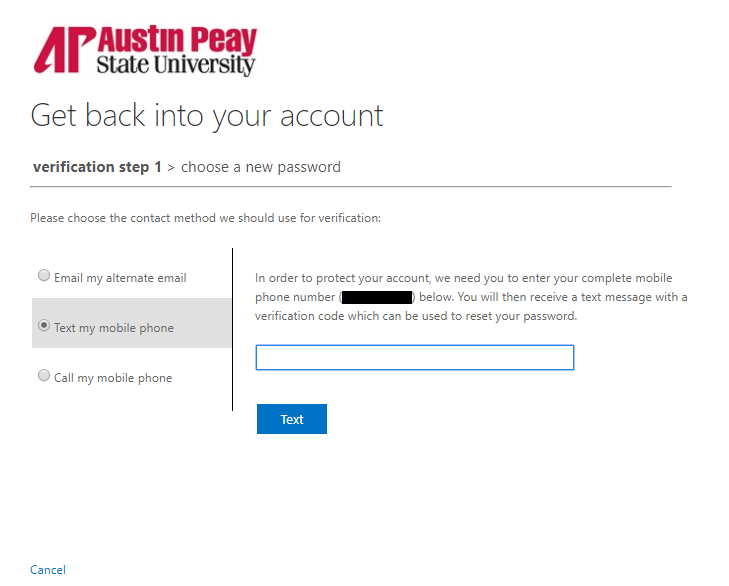 azure password reset step 11