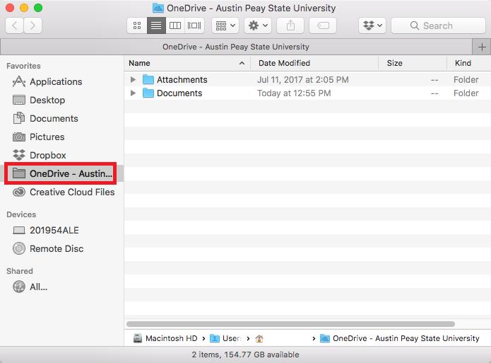 onedrive mac step 9