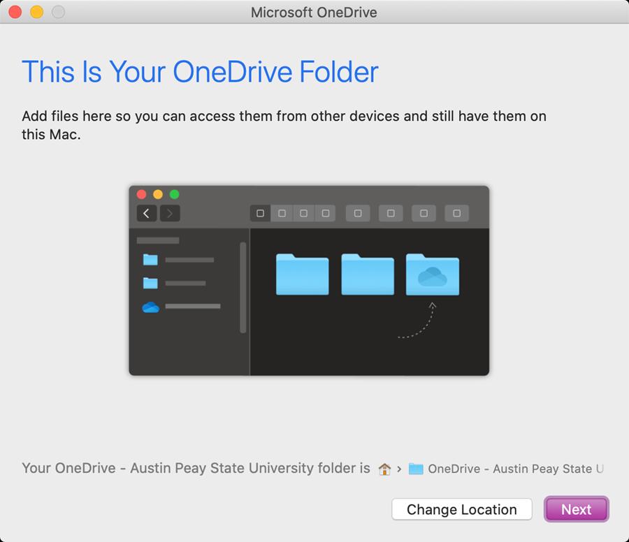 onedrive mac step 5