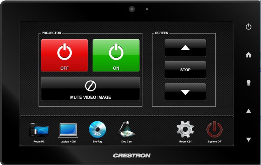 crestron room control