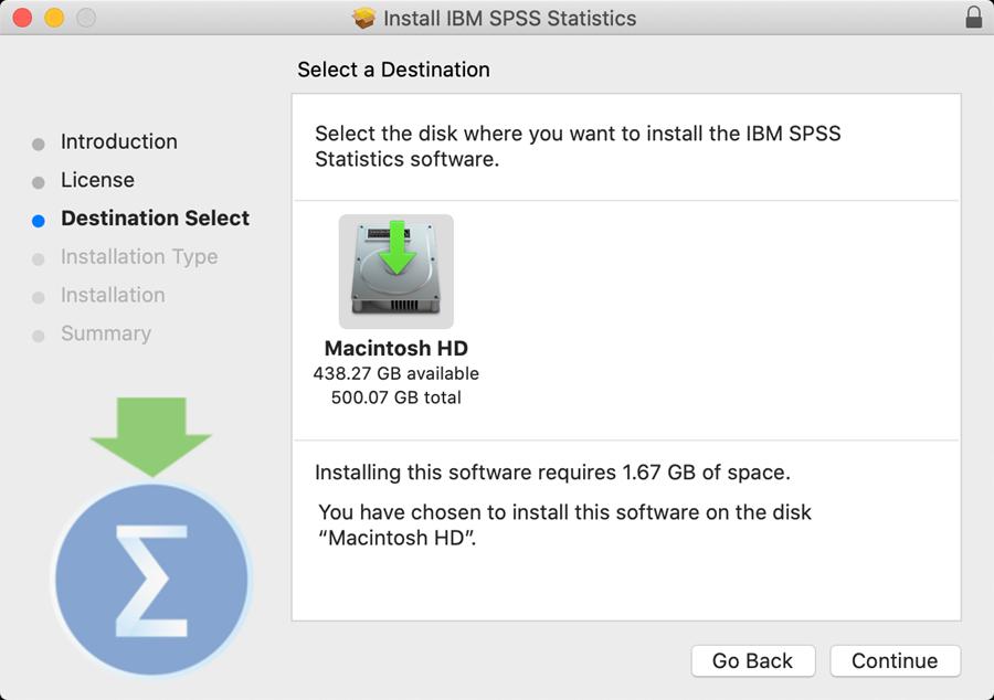 spss personal mac step 9