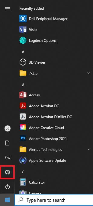 default browser windows 10 step 1