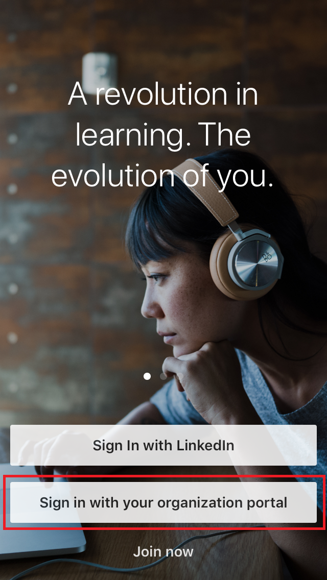 linkedin learning app step 2