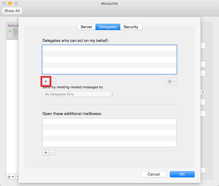delegate access mac step 5