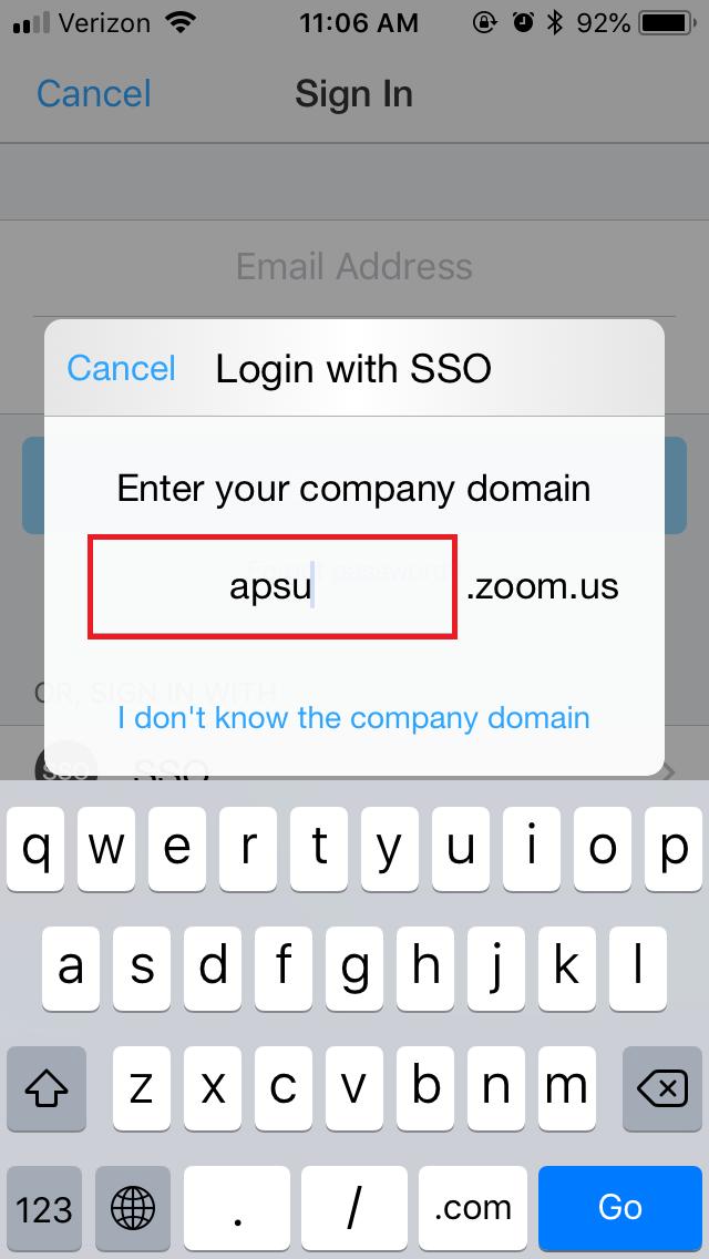 zoom app step 4