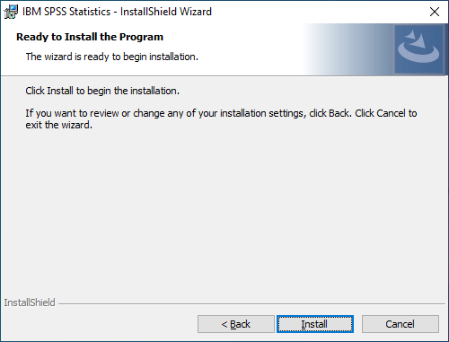 spss personal pc step 9