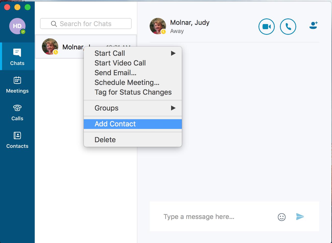 skype for mac step 4