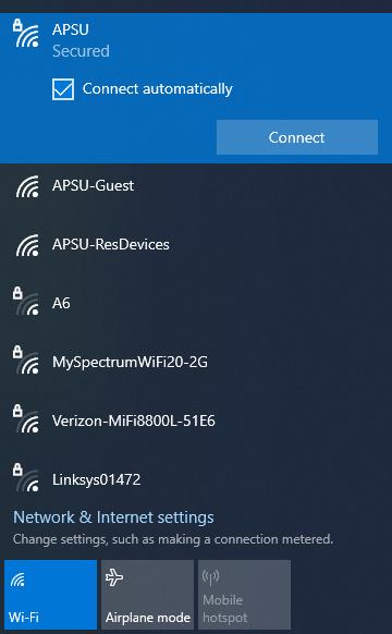 APSU network windows step 3