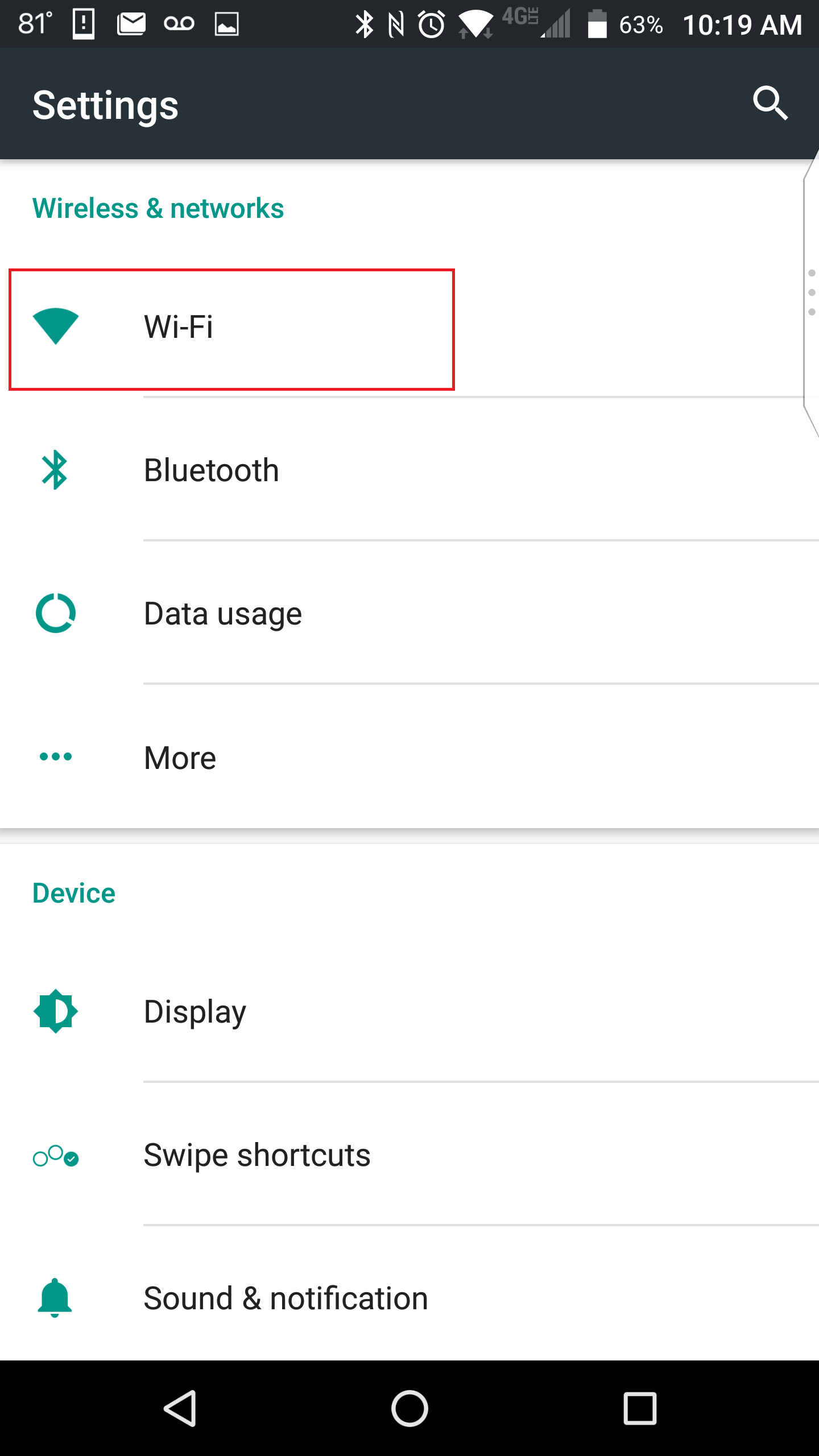 apsu network android step 2
