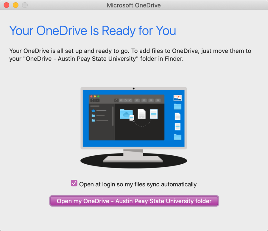 onedrive mac step 8