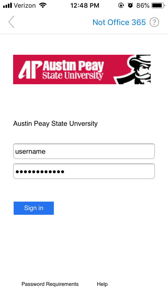 faculty email windows app step 4