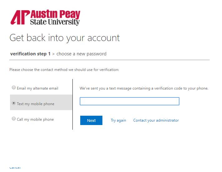 azure password reset step 12