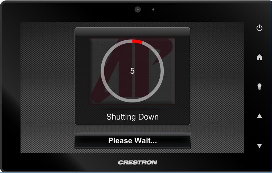 crestron shutting down